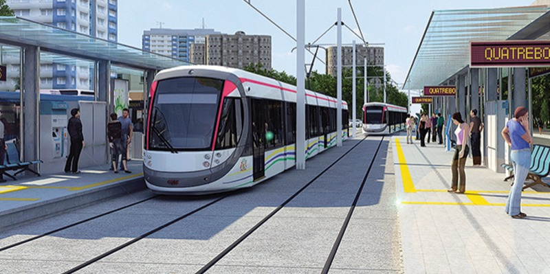 Light rail project in Mauritius
