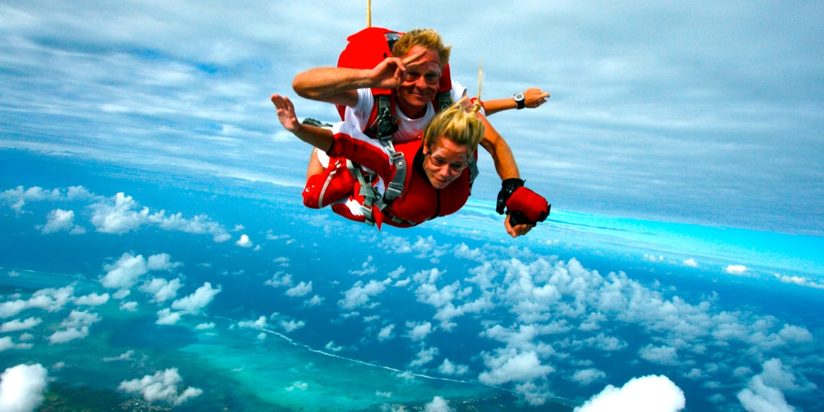 Your Mauritius Skydive
